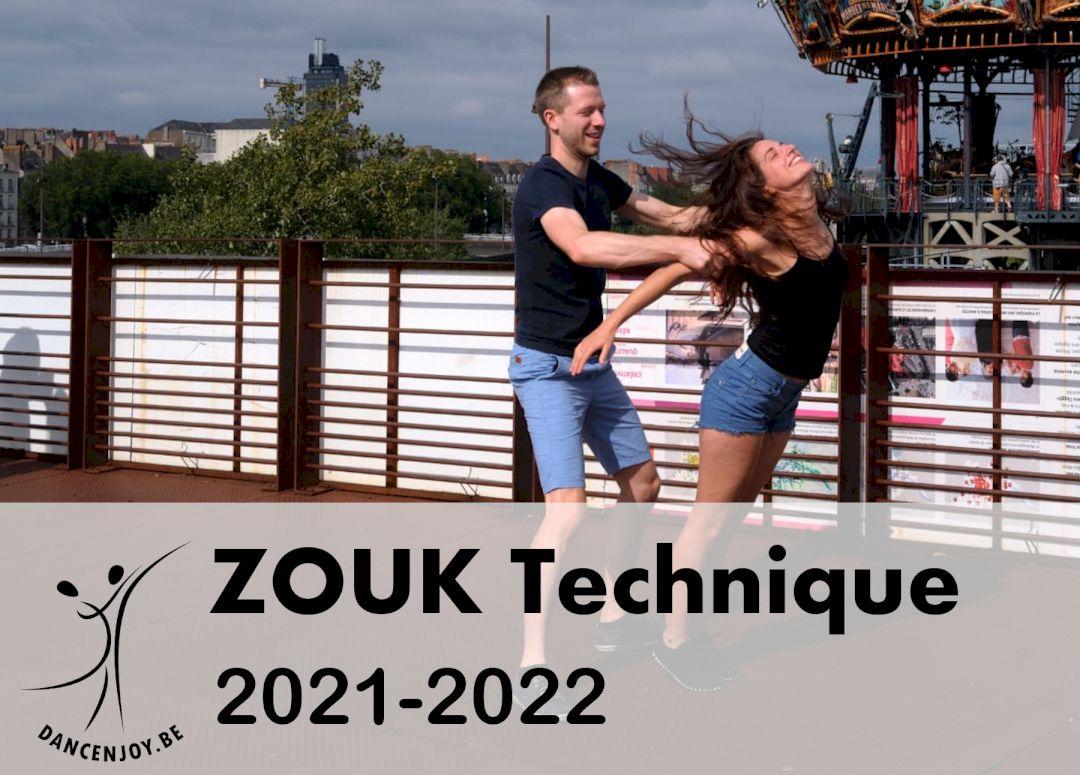 Afbeelding van 3 - Zouk Technique 2021-2022